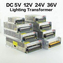 LED Driver Power Supply AC110-220V to DC5V 12V 24V 36V 60W 120W 200W 240W 360W 480W LED Adapter Lighting Transformers