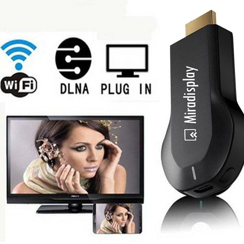 Бесплатная доставка miradisplay ТВ-карты HD 1080 P Wi-Fi Dongle displayer приемник DLNA AirPlay Miracast воздуха зеркалирование для телефона ТВ PC