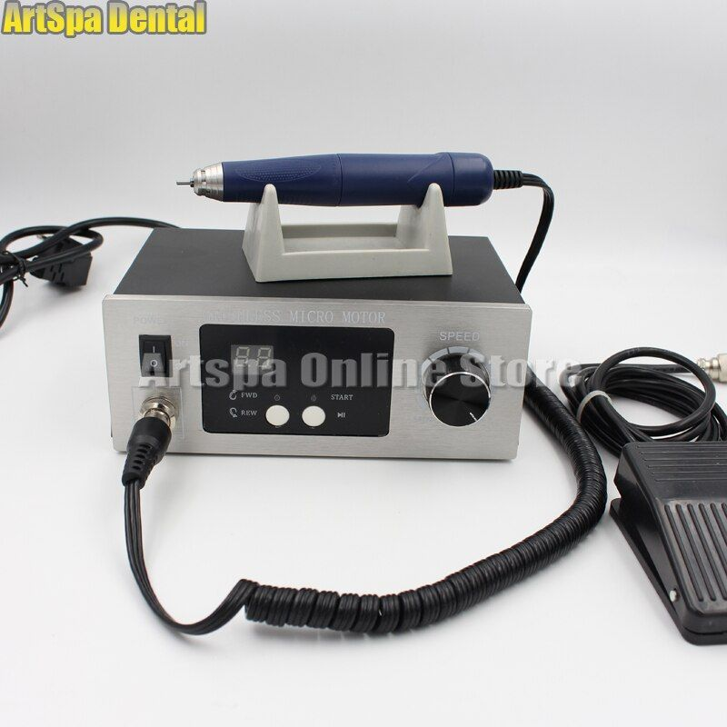70,000 RPM Non-Carbon Brushless laboratory Dental Micromotor Polishing lab handpiece stone/ metal/ jewelry carving Engraving
