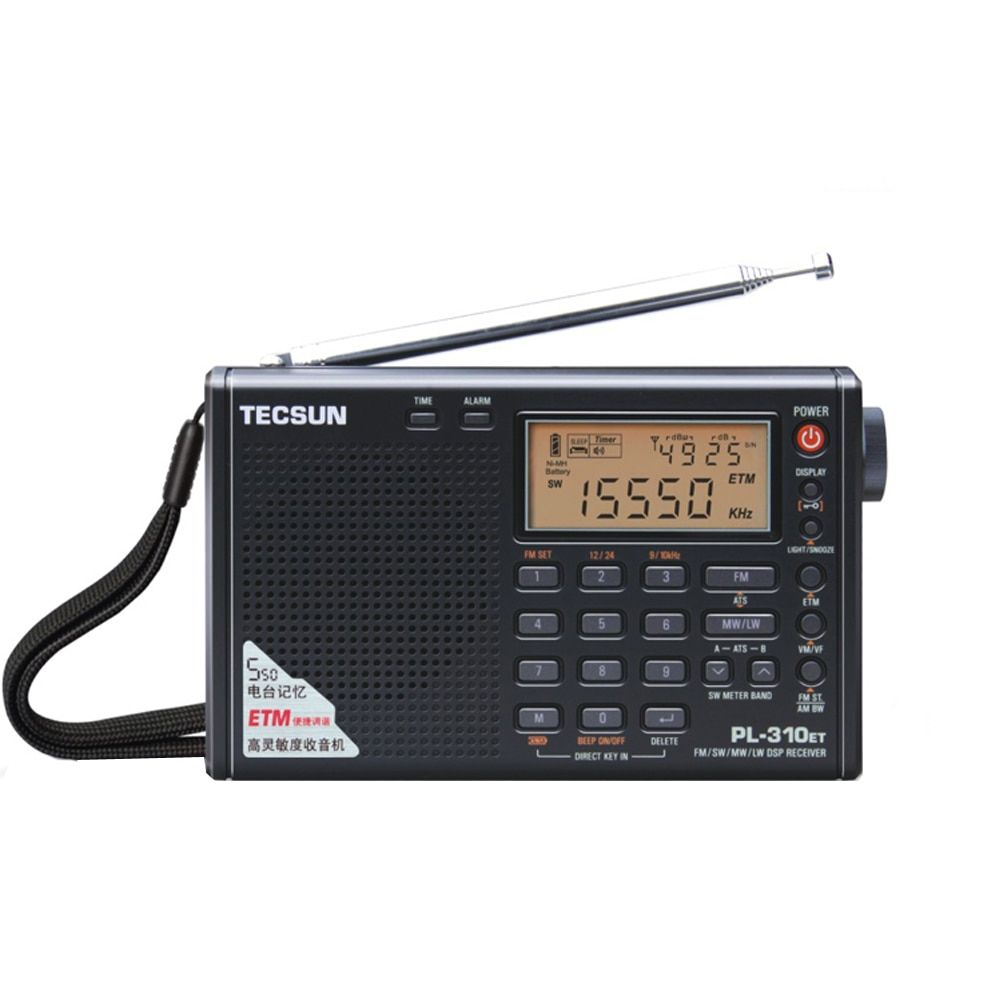 Tecsun PL-310ET Full Band Radio Digital Demodulator FM/AM/SW/LW Stereo Radio tecsun pl-310et English Russian user manual