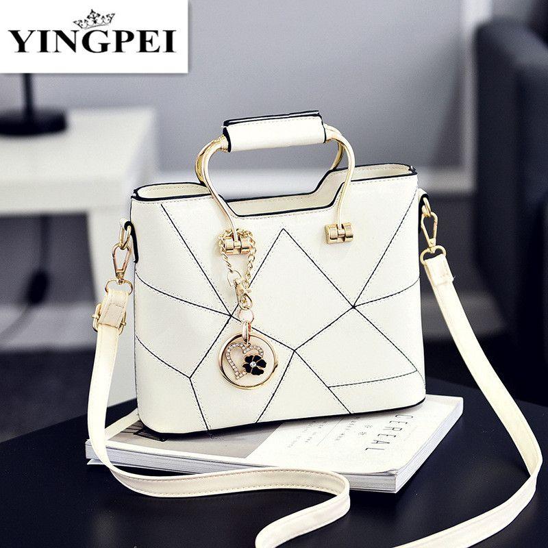 YINGPEI femmes sacs à bandoulière femmes Messenger Top-poignée sac petit gland sacs à main fourre-tout sac à main Designer Bolsas