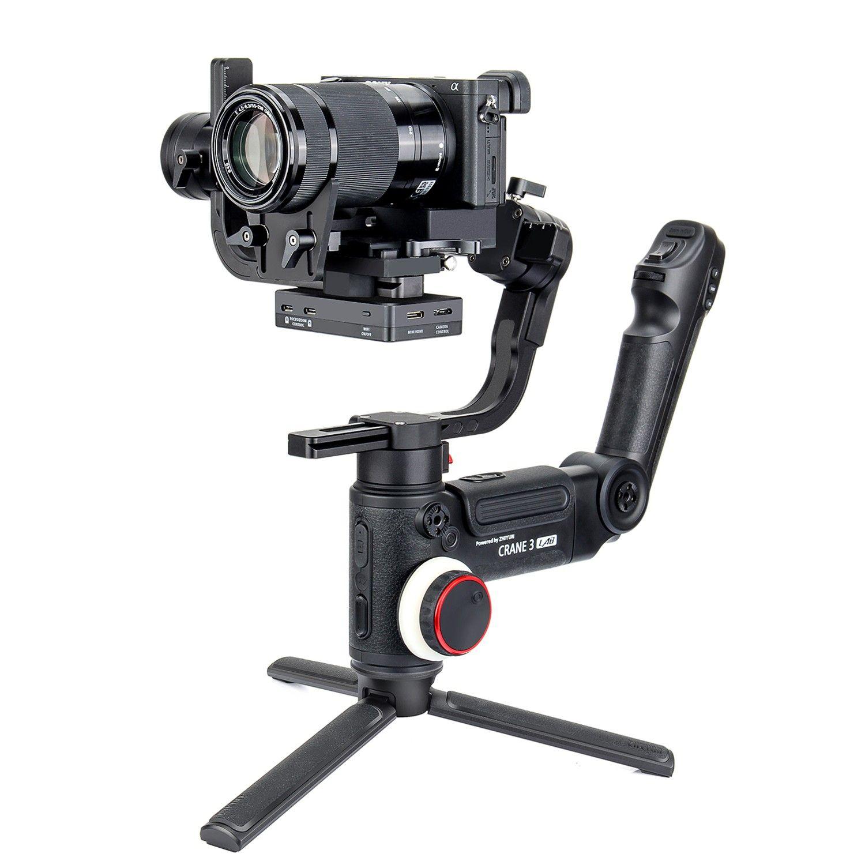DHL ZHIYUN Kran 3 LAB 3-Achse Drahtlose FHD Bild Übertragung Kamera Stabilisator ViaTouch Control Handheld Gimbal für DSLR