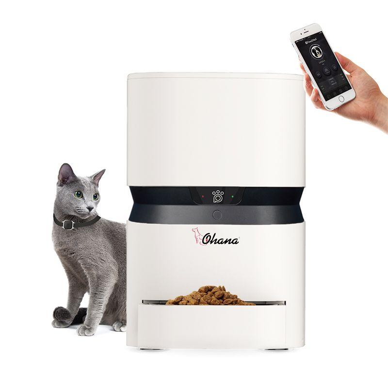 New APP Automatic Pet Feeder Cat/Dog Food Dispenser Pet Feeder Automatic USB Charge Capacity 8L Dog Bowl Dog Feeder Cat Bowl