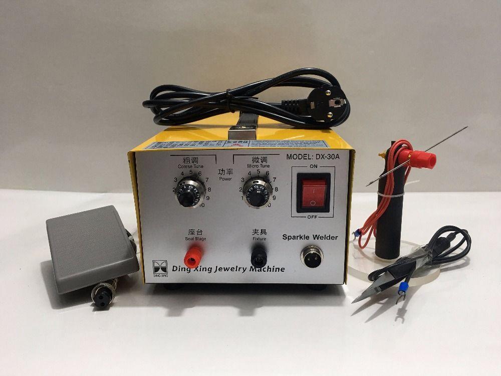 DX-30A D'or De Soudage Laser de Soudage par points Bonne Impulsion Soudeuse 200 W Bijoux Machine De Soudage Or Argent Platine