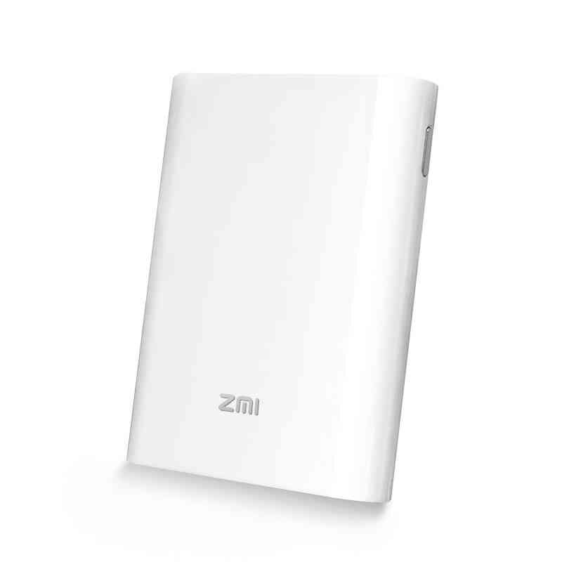 Original Xiaomi ZMI MF855 Powerbank 3G 4G Router Wireless Wifi Repeater with 7800mAh Power Bank 3.6V Micro USB