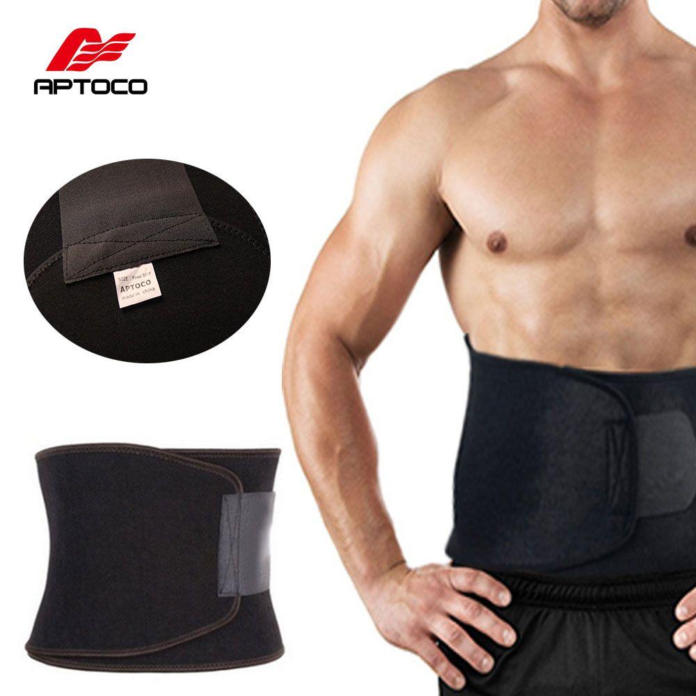 APTOCO corset réglable exercice sueur ceinture gros brûleur Shaper minceur perdre du poids corps brûler la Cellulite pour hommes femmes
