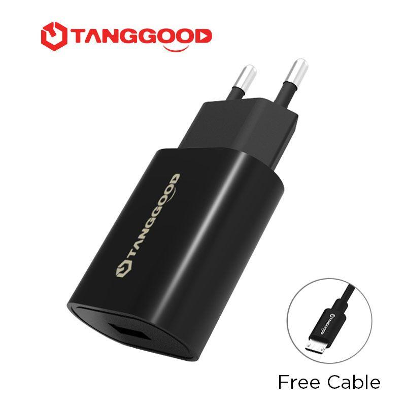 TANGGOOD Charge Rapide 3.0 USB Chargeur Universel pour Téléphone Sortie 18 W QC 2.0 Rapide pour Samsung Galaxy S8 7 Xiaomi Mi 5 iPhone 7