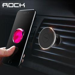 Roca Magnética Universal Car Air Vent Mount Soporte para Teléfono Celular Imán teléfono Soporte Para GPS iPhone 6 7 HTC Samsung Xiaomi 5S