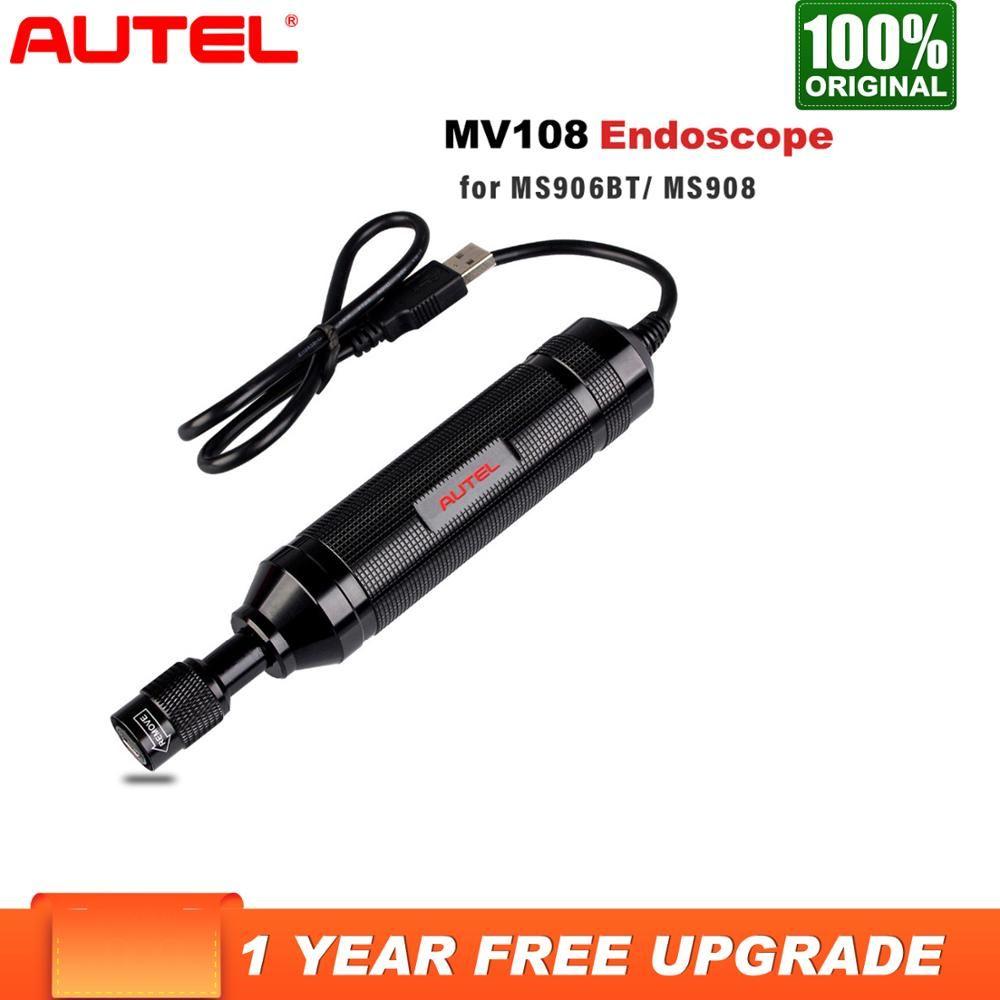 Autel Maxi MV108 HD Digital 8,5mm Inspektion Kamera für MaxiSys Pro und PC unterstützung video inspektion E Bild Kopf