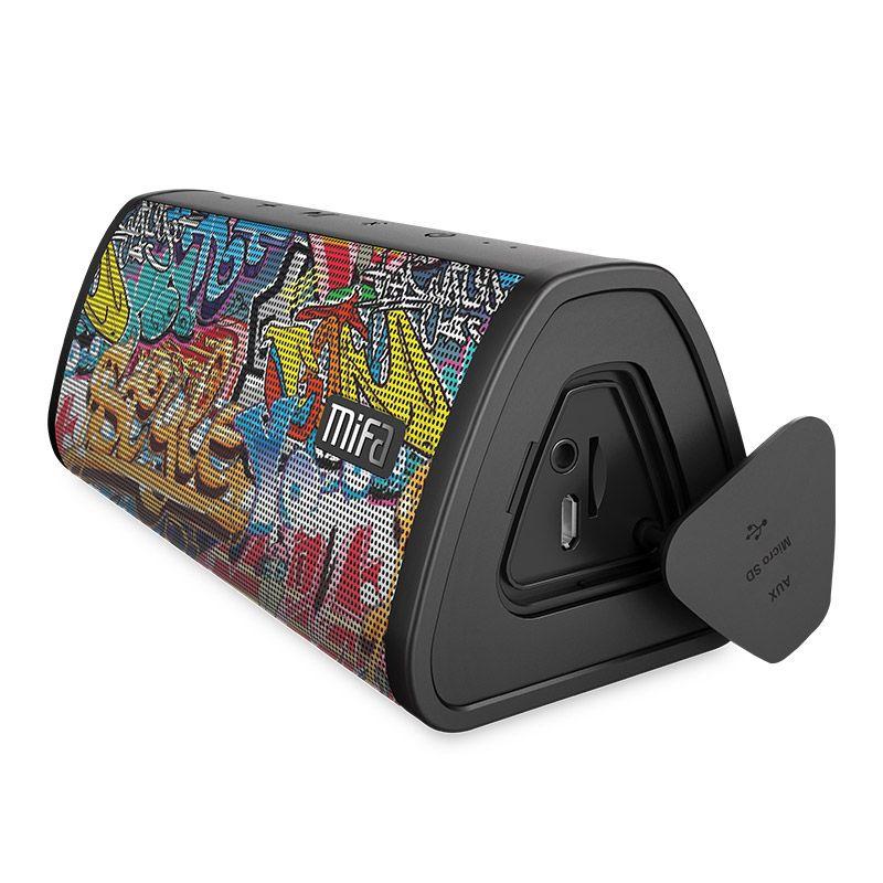 Mifa portable Bluetooth haut-parleur Portable sans fil système de son 10W stéréo musique surround étanche haut-parleur extérieur