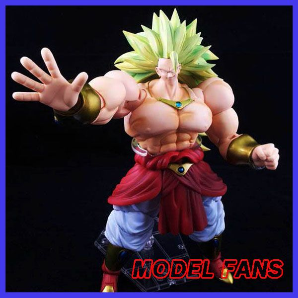 MODEL FANS in-stock Dragon Ball Z shf super saiyan 3 broli Brolly head figure toy for Collection (only head not have body)