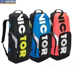 2018 Asli Victor Badminton Tas Tenis Olahraga Merek Olahraga Raket Ransel BR8018