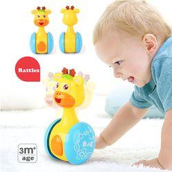 Bayi Mainan Tumbler Boneka Mainan Bayi Manis Bel Musik Roly-poly Belajar Pendidikan Mainan Hadiah Bayi Bell Mainan Bayi