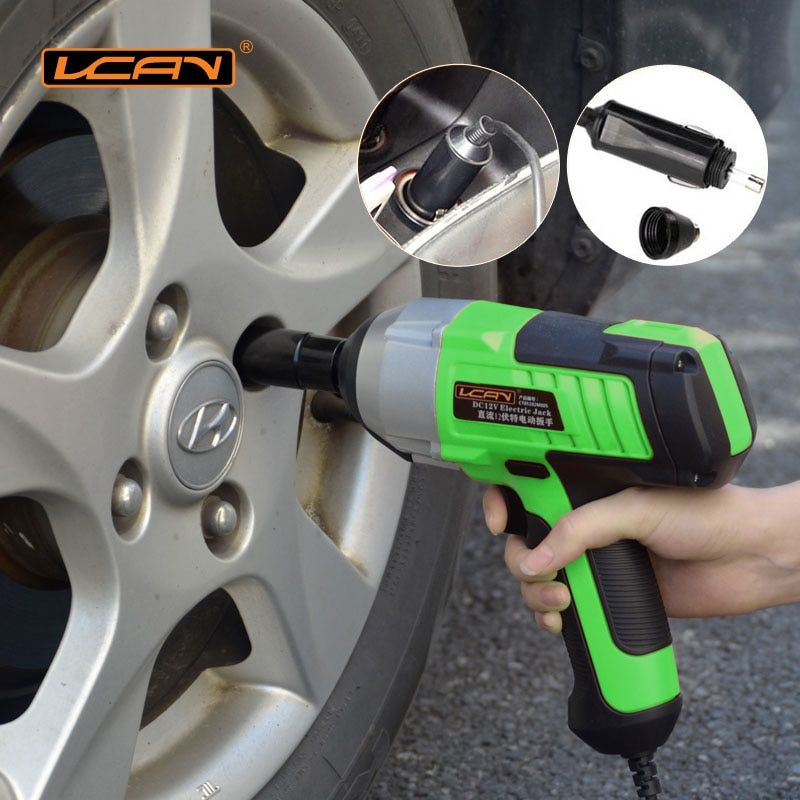 New Upgrade 450n.m Electric Wrench Dc 12v Car Impact Car/suv Changing Tire Tools1/2 Connector