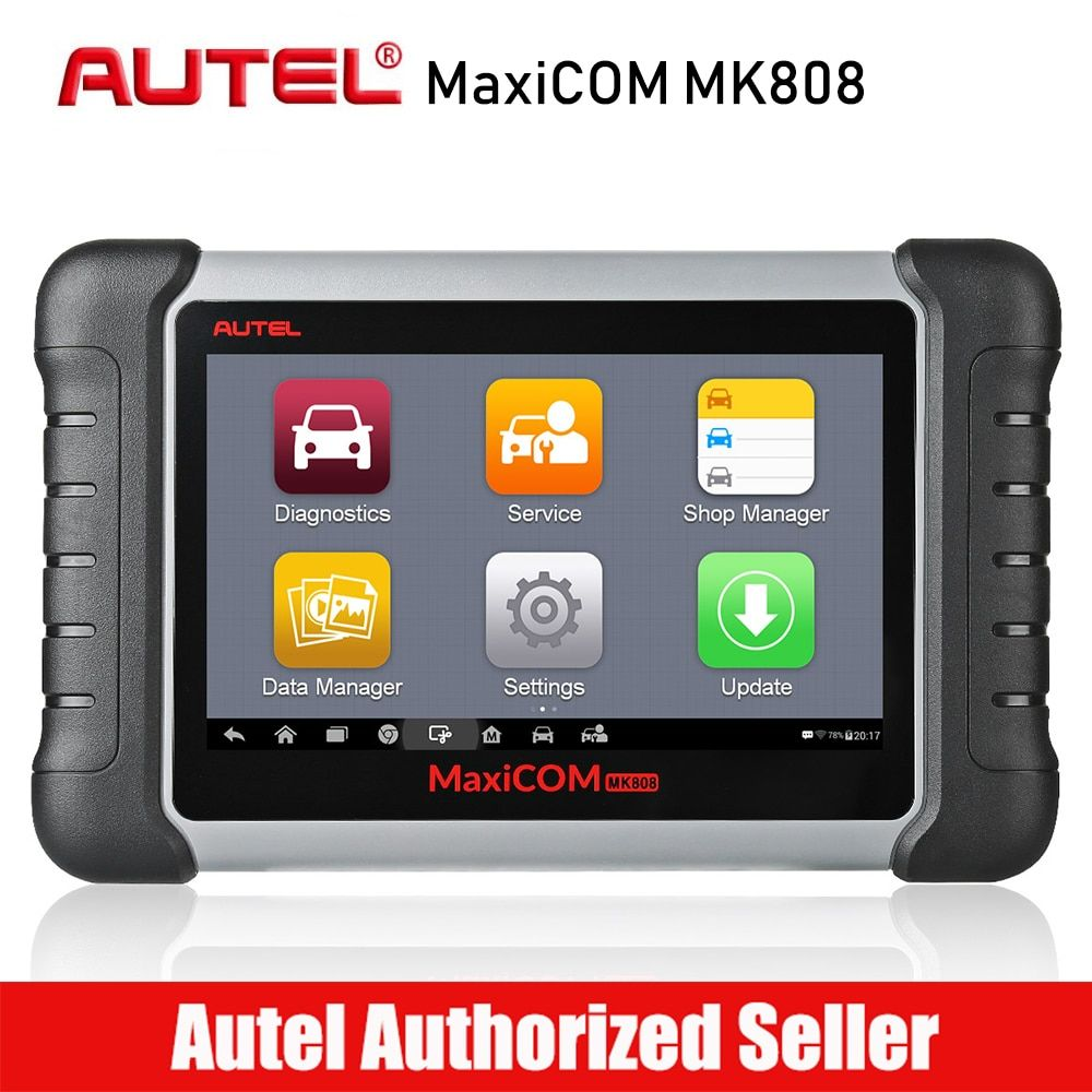 Autel MaxiCom MK808 Automotive Diagnostic Tool OBDI OBD2 Auto Scanner Alle System Scan Tool Öl Reset/EPB/BMS /SAS/DPF/TPMS/IMMO