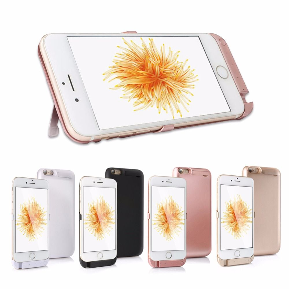 Goldfox Battery Case For iPhone 6 s 6s 5000/<font><b>8000mAh</b></font> Power Bank Charging Case For iPhone 6 6s Plus Battery Charger Case Cover