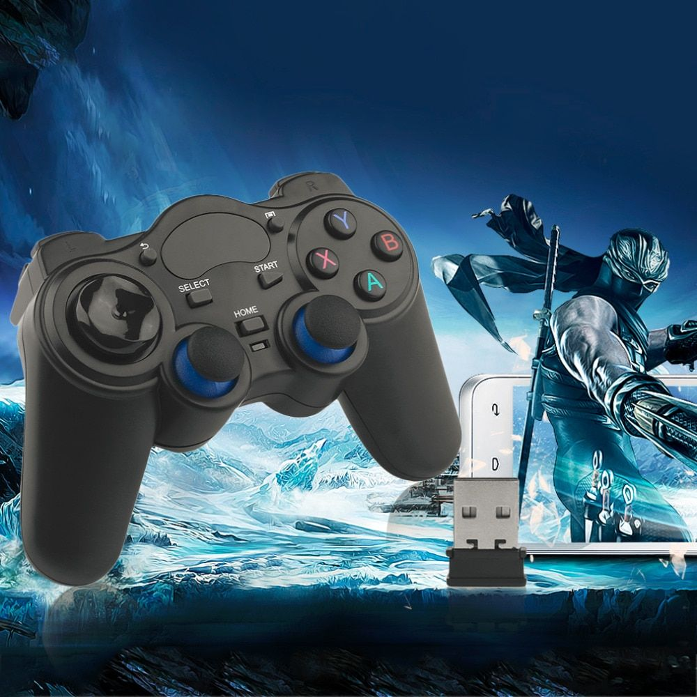 Professional 2.4GHz Wireless Game Pad Joypad Controller Handle Gamepad Joystick For Windows 8/7/XP For Android