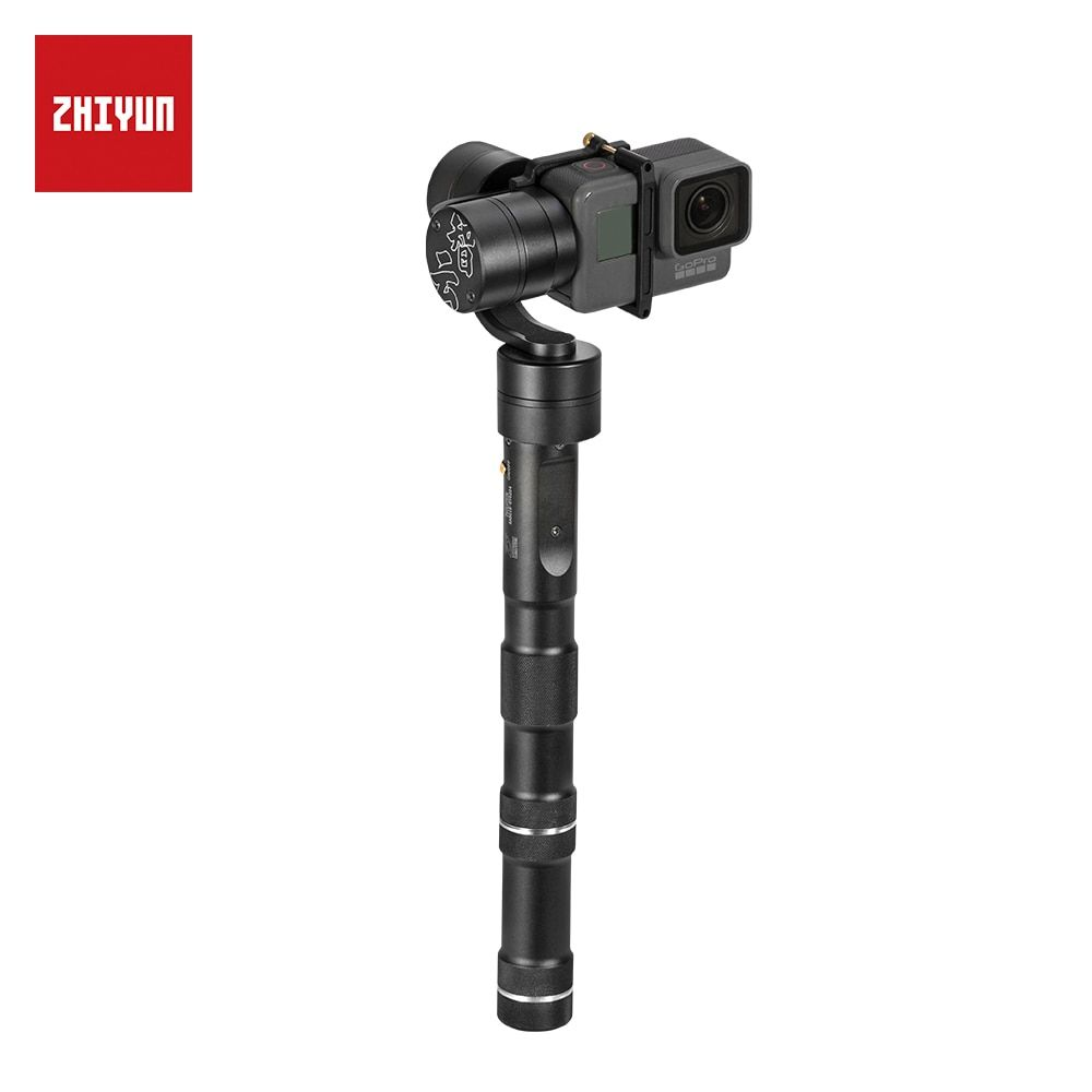 ZHIYUN Official Evolution 3-Axis Handheld Gimbal Stabilizer for Action Camera Gopro3/3+/4 Aluminum Alloy Construction