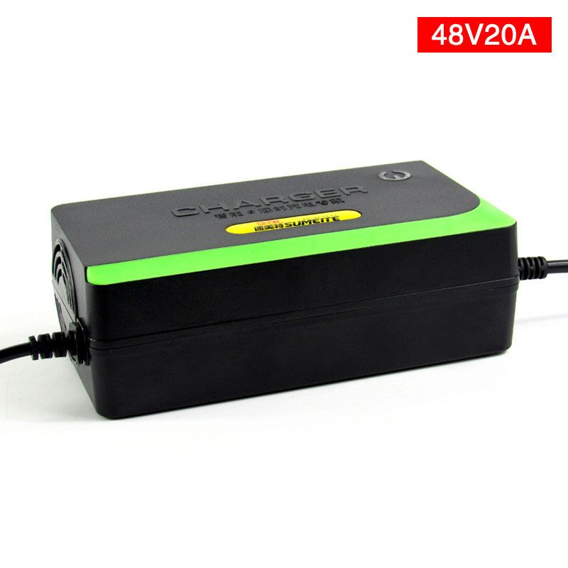 Wholesale 48V 20AH Lead Acid Battery Charger Electric Bicycle Bike <font><b>Scooter</b></font> Charger Power Supply 48V 2.3-2.45A With US PLUG/EU