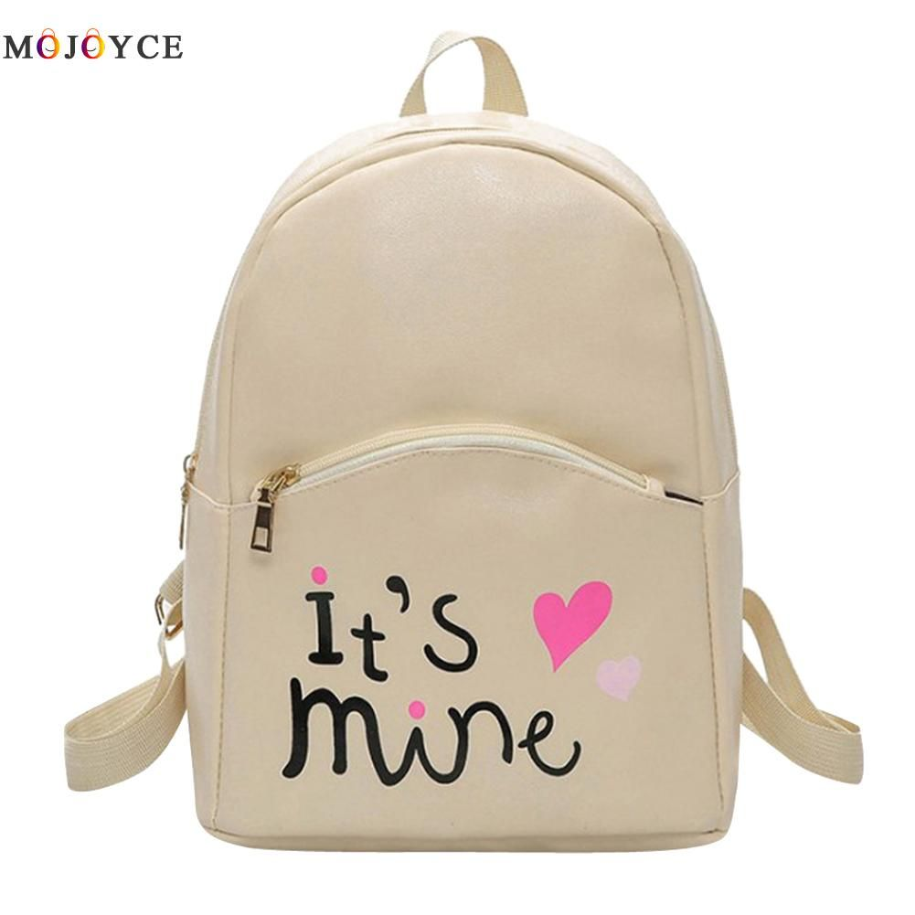 Fashion Women Backpack Leather School Bags for Girls Teenagers Top Handle Backpack sale on high quality runsuck