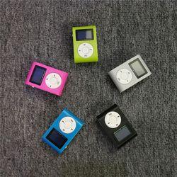 Briame MP3 Player Portable USB Clip Mini LCD Screen Support 32GB Micro SD TF Card Mini Clip MP3 music Player walkman lettore mp3