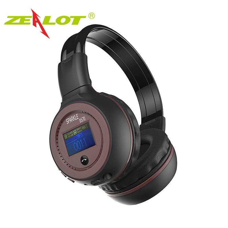 Стерео гарнитура наушники Bluetooth Беспроводной стерео LED Экран дисплея громкой связи беспроводные наушники с микрофоном fm Радио TF карты Ecouteur ...