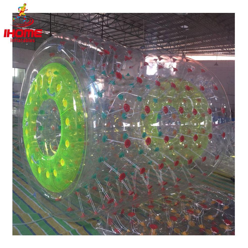 IHOME PVC aufblasbare wasser roller aufblasbare fuß roller ball aufblasbare wasser roller ball neue ankunft wasser zu fuß ball