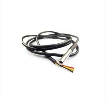 1 PCS DS1820 paquet en acier Inoxydable Étanche DS18b20 sonde de température capteur de température 18B20 Pour Arduino