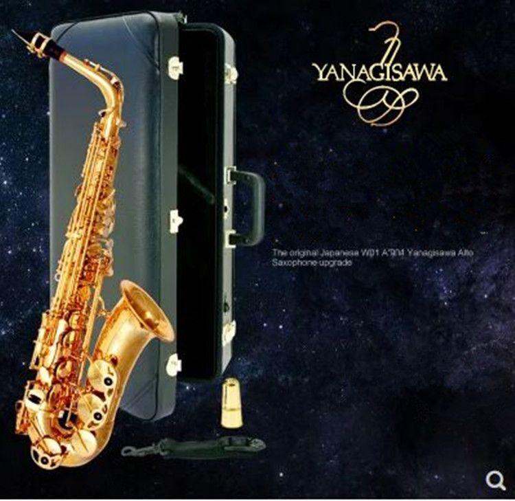 Hot New Yanagizawa Alto saxophone A-992 Saxophone Flat Alto High Quality Super Professional Musical Instruments With hard Case