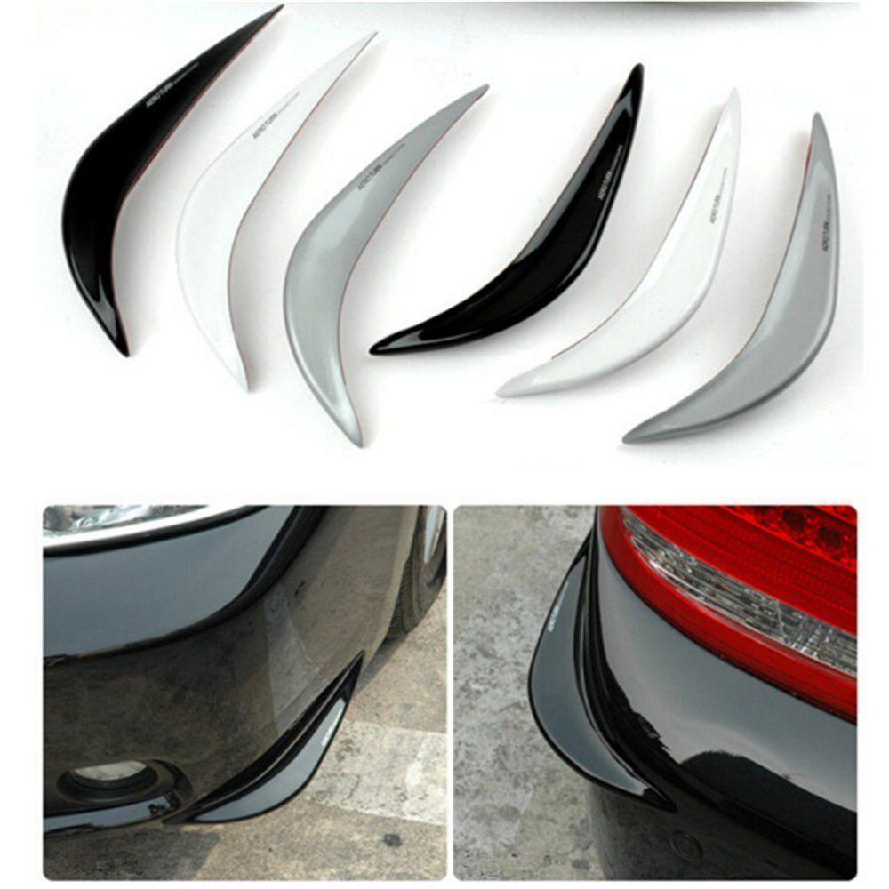 2PCS Car Bumper Strips Crash Bar Hard PVC Sticker for Toyota Corolla Rumion Corolla Runx FJ Cruiser Fortuner GT86 Harrier