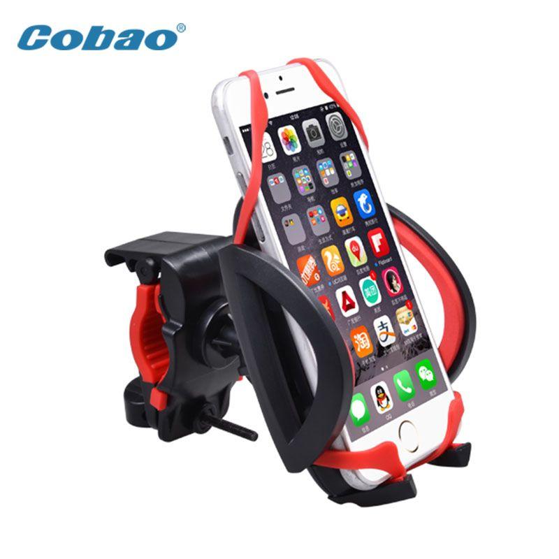 Nouveau support universel de support de guidon de moto de vélo de téléphone portable pour iPhone Samsung LG Smartphone