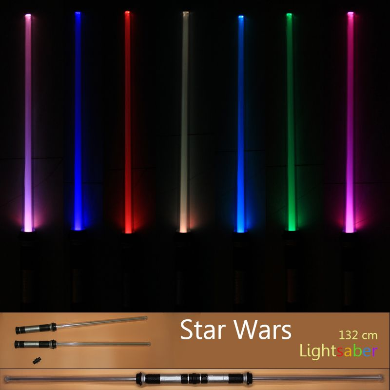 Drop Shipping 2 pcs/lot Star Wars Lightsaber Christmas Gifts ( only for wholesale )
