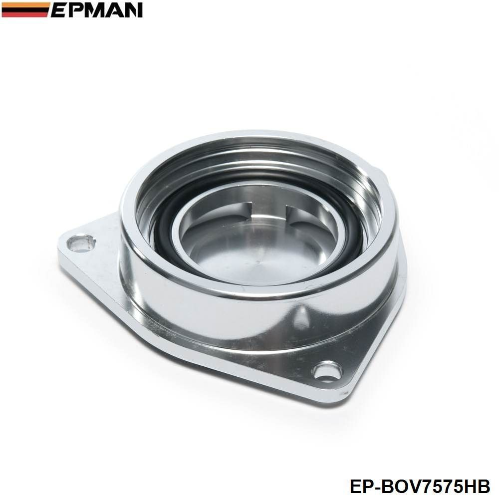 For Hyundai Genesis 2.0T Turbo 08+ SSQV SQV Blow Off Valve Flange Adapter Jdm EP-BOV7575HB
