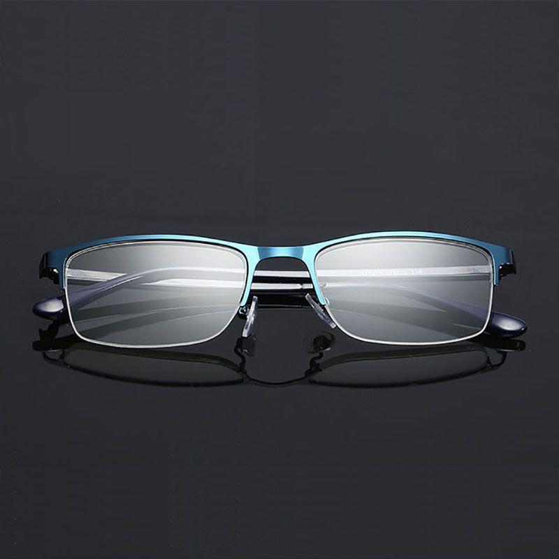 Optical Eyeglasses Half Rim Eyeglasses Non Spherical 12 Layers Coated Lenses Reading Glasses+1.0 +1.5 +2.0 +2.5 +3.0 +3.5+4.0