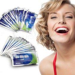 1 Pack 28 pcs Blanchiment Des Dents Bandes Professionnel de Blanchiment des dents Whiter Gel Bandes