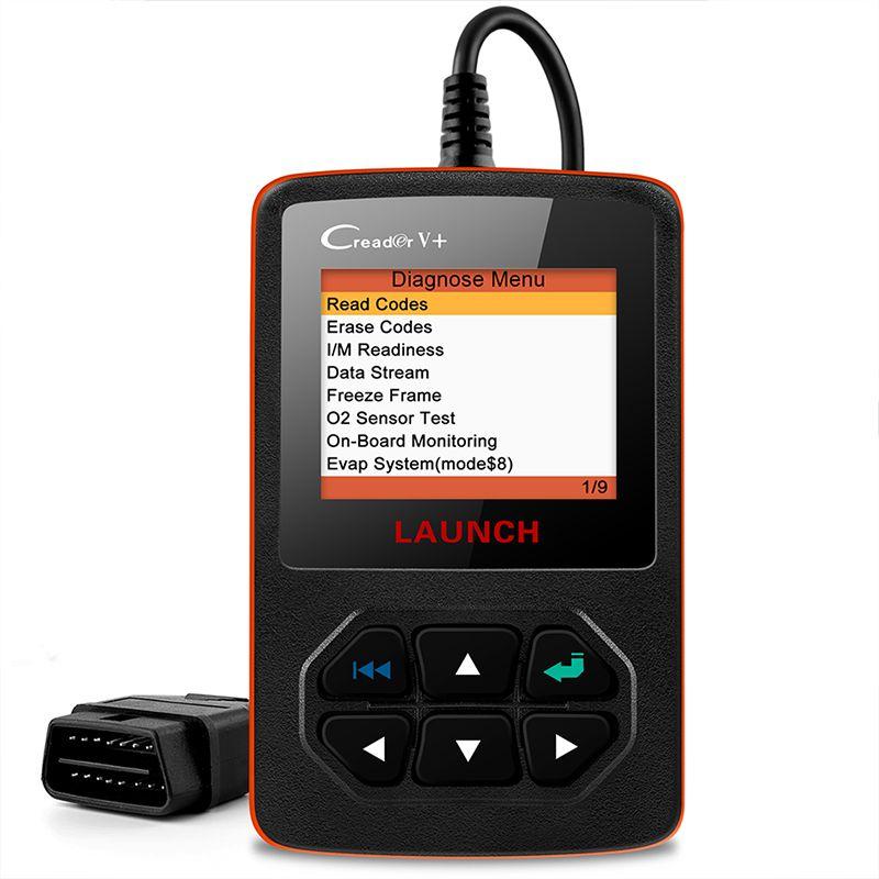 STARTEN X431 Creader V + OBDII OBD2 Code Reader Motor Scanner Unterstützung Volle OBD 2 funktion Creader V plus Automotive scanner tool