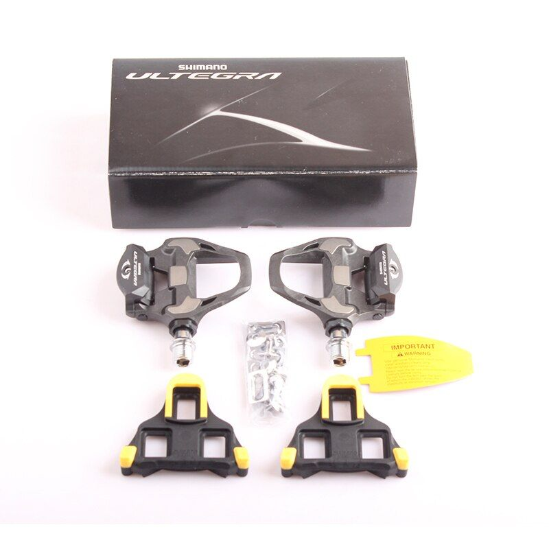 SHIMANO ULTEGRA PD R8000 Carbon Self-Locking SPD Pedals for Bicycle Racing Road Bike Parts