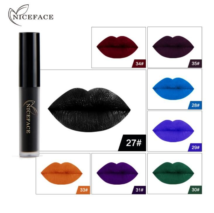 Fashion Makeup Shining Metal Liquid Lipstick Halloween Festival Sexy Glitter Shimmer Lip Gloss Beauty Lipgloss Tint Cosmetic