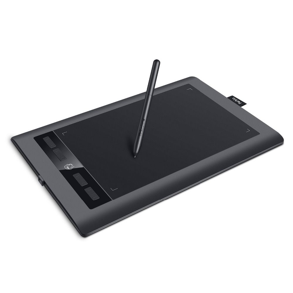 Parblo A610S Art Digital Graphics Tablet <font><b>Drawing</b></font> Painting Board 10x6 Active Area Battery-free Pen with 8192 Levels Pressure