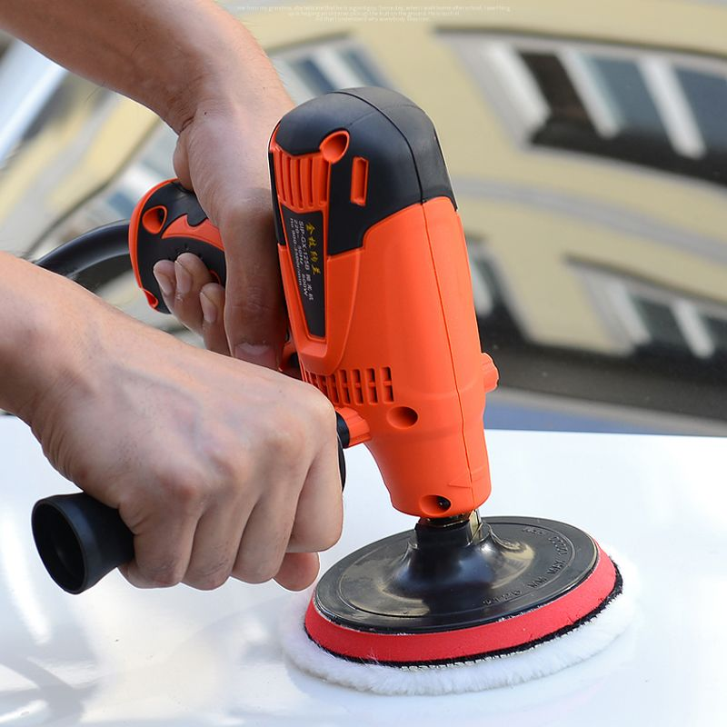 Car polishing machine Waxing machine beauty tools polisher Scratch repair Sealing glaze electric Car repair tools 220V