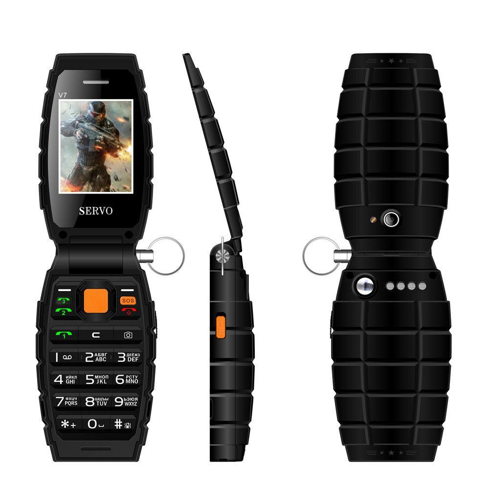 Drei SIM-handy 2,4 3 sim-karte 3 standby handy Taschenlampe Energienbank ladung Russische tastatur Handy P154