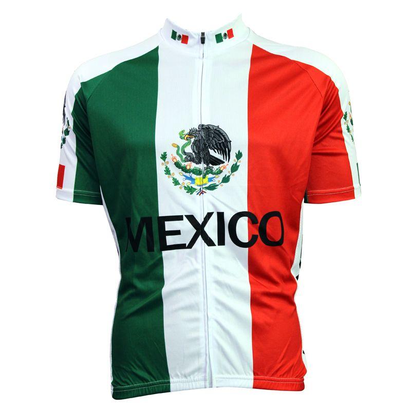 Bike jerseys Cycling equipment New MEXICO Mens Cycling Jersey Cycling Clothing Bike Motorcycle Size 2X