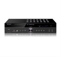 High Power 122 550 W/300 W 5.1 Channel HI FI AV Amplifier Bluetooth Home Theater Audio Amplifier Karaoke Amplifier dengan LED Display