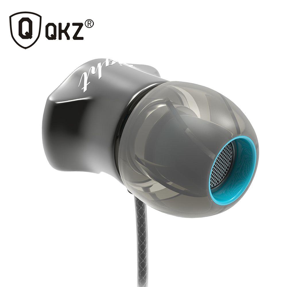 Écouteurs QKZ DM7 Édition Spéciale Or Plaqué Logement Casque Isolation Sonore HD écouteurs hifi auriculares fone de ouvido
