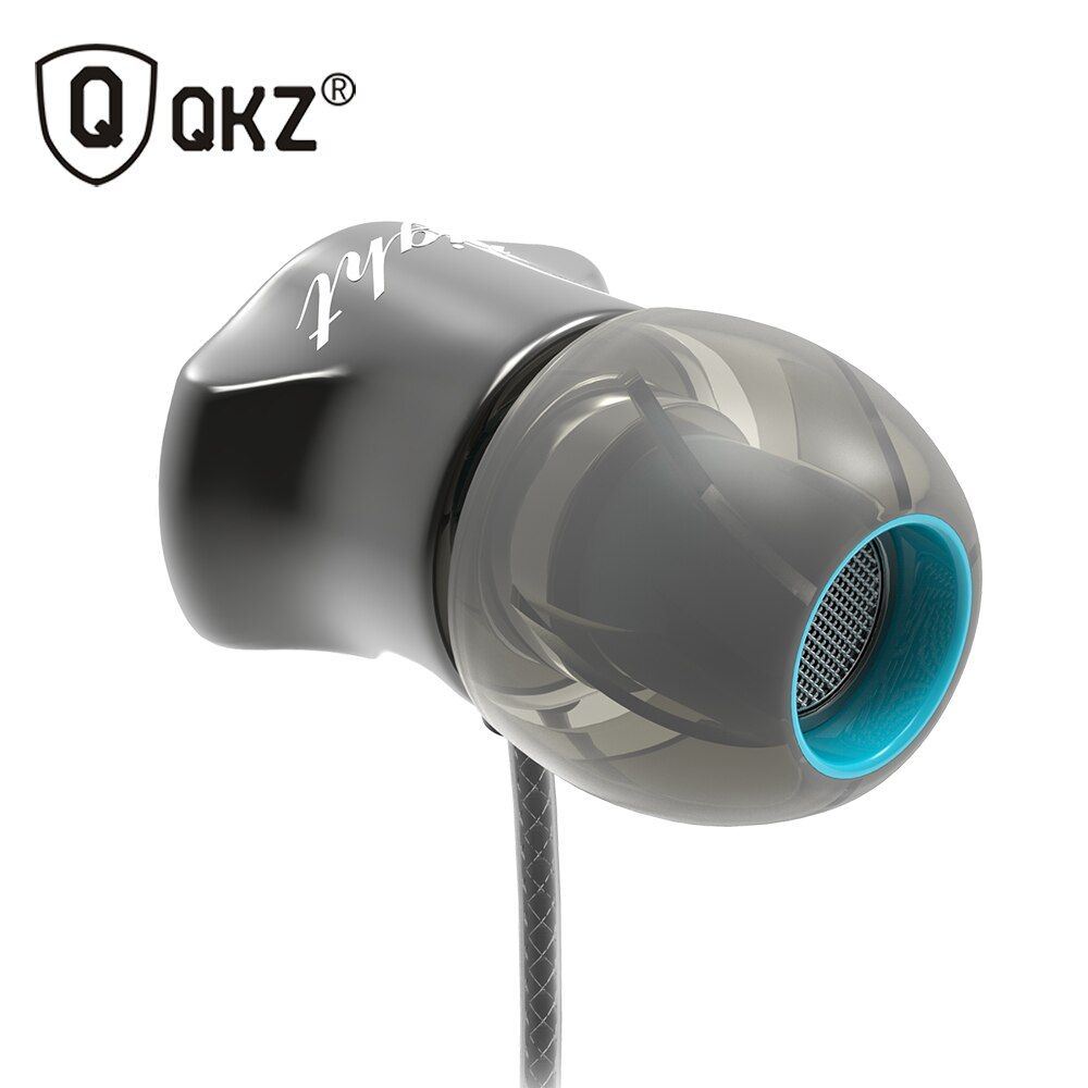 Earphones QKZ DM7 Special Edition Gold Plated Housing <font><b>Headset</b></font> Noise Isolating HD HiFi Earphone auriculares fone de ouvido