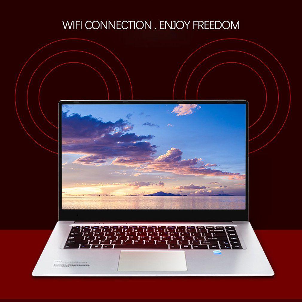 15,6 Spiel Notebook Windows 7/10 8 GB RAM 128 GB HDD DVD Schnelle PC Metall Business Student Arabisch AZERTY Spanisch Russische Tastatur