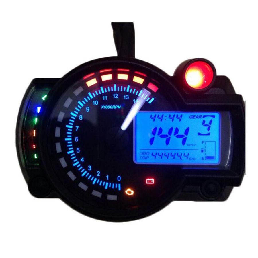 2017 15000rpm modern KOSO RX2N similar LCD digital Motorcycle odometer speedometer adjustable MAX 299KM/H