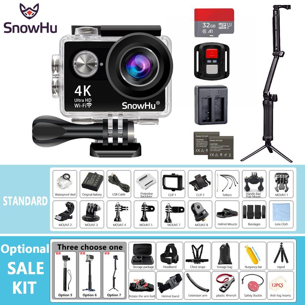 Cámara de Acción SnowHu H10R Ultra HD 4 K/25fps WiFi 2.0