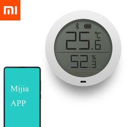 2018 D'origine Xiaomi Mijia Bluetooth Température Humidité Thermomètre Numérique Humidimètre Capteur LCD Écran Intelligent Mi Maison