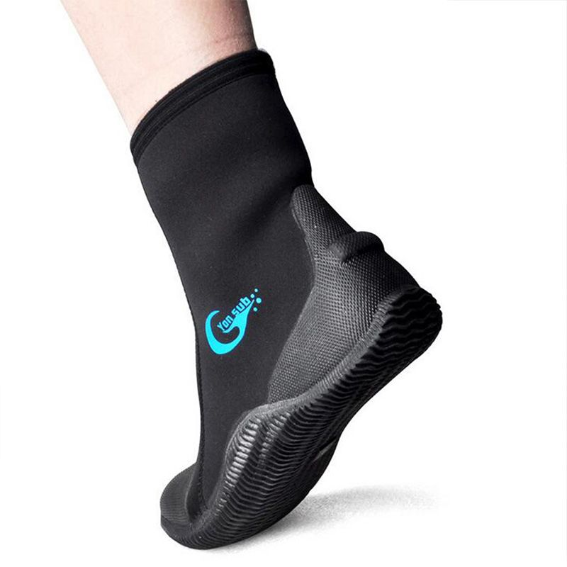 5MM SCR Snorkeling Shoes Neoprene Vulcanization Upper Scuba Diving Keep Warm Shoes Beach Swimming Fins